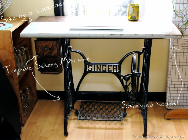 Treadle sewing machine cabinet plans Plans DIY How to Make ...