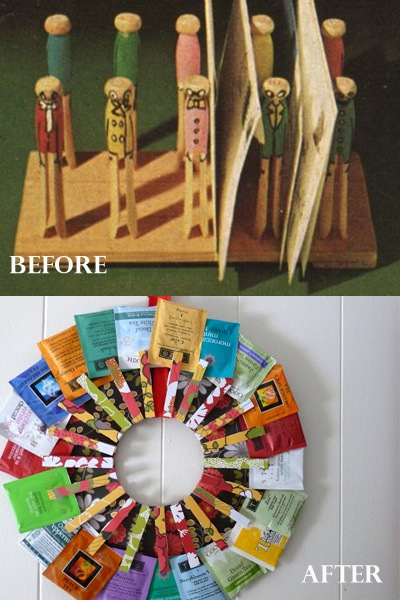 clothespins before and after