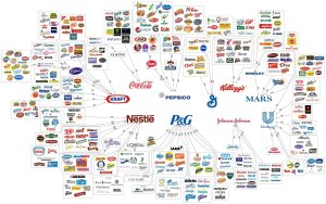 The food & household products monopoloy