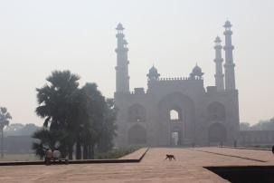 At Akbar's tomb